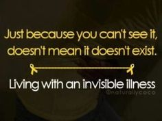#chronicillness #invisibleillness
