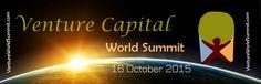 Venture Capital World Summit Premiere Finance Event Anthony Tinsley Speaker