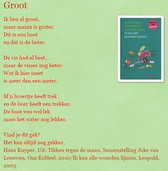 Groot - Hans Kuyper lange klanken / korte klanken Poems In English, Best Teacher Ever, Poems Beautiful, Quotes And Notes, Spelling, Best Quotes, Poetry, Language, Wisdom