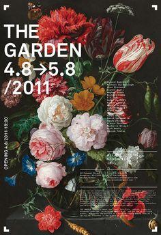 peinture hollandaise : bouquet de fleurs, affiche d'exposition