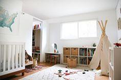 Indianer Tipi Zelt für das Kinderzimmer selber bauen