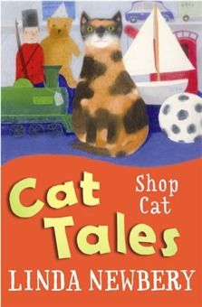 Shop Cat  Hattie likes helping her uncle in his toyshop and business has been booming since Twister came to live there. She's certainly a mysterious cat, but could she be magical too? Curl up with Cat Tales from award-winning and enchanting storyteller, Linda Newbery.