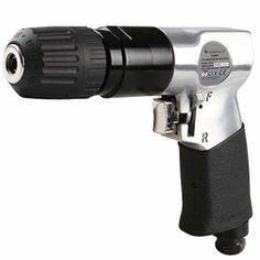 Timbertech – Perceuse pneumatique – avec mandrin à serrage rapide – 19/15/4,5 cm (L/H/l)