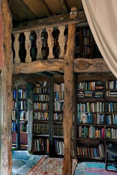 A gorgeous room filled with books