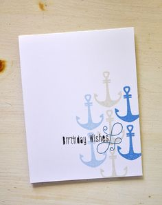 Birthday Wishes Card by Maile Belles for Papertrey Ink (June 2015)