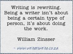WILLIAM  ZINSSER...Amen to this.