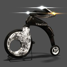 This  bike goes 14mph, folds up and is only 25 pounds. How Cool is THIS?