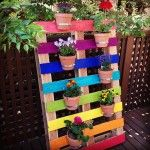 Pallet Plant Stand Serves Your Indoor and Outdoor Needs!! | Pallets Designs