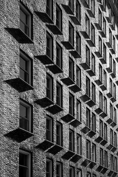 Brick Facade by booksin