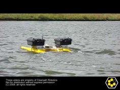 Kingfisher M100 Still-Water Operation
