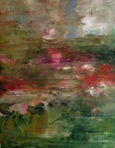 Roses in the sky 18x24 Mary Suzanne Garvey New-Paintings-2015