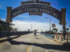 Welcome to Santa Monica Pier, Los Angeles