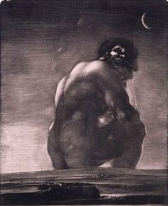 The Colossus, 1812 By Goya