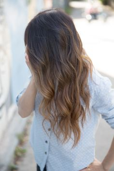 35 Soft, Subtle and Sophisticated Sombre Hair Color Ideas - Part 8 Sombre Hair Color, Balayage Hair, Subtle Ombre Hair, Sombre Hair Brunette, Natural Ombre Hair, Blonde Ombre, Ombre Human Hair Extensions, Tape In Hair Extensions, Corte Y Color