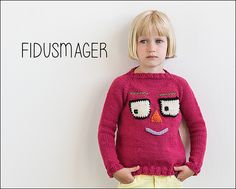 Fidusmager from Knits for Little Scamps 1 - an 11 pattern ebook of kids knits / På dansk i bogen Strik til Banditter