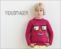 Fidusmager from Knits for Little Scamps 1 - an 11 pattern ebook of kids knits / På dansk i bogen Strik til Banditter