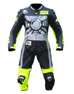 Street Racing Valentino Rossi 2013 VR-46 Leather Suit