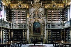 Biblioteca Joanina, University of Coimbra | Portugal