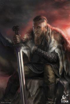 Vikings: Uprising! 1E, Josh Burns on ArtStation at https://www.artstation.com/artwork/DERmR