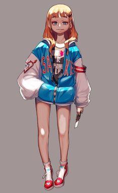 본문 이미지 Game Character Design, Character Design References, Character Drawing, Character Design Inspiration, Comic Character, Character Concept, Concept Art, Illustration Girl, Character Illustration