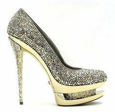 Gianmarco Lorenzi Swarovski shoes - $3000