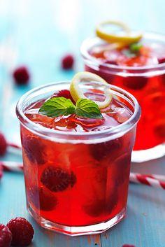 Gin fizz Confiture de framboises | L'heure du thé
