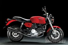 Ducati Sport Classic GT1000 studio view