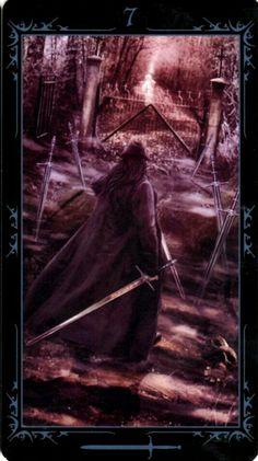 Seven of swords DARK FAIRYTALES TAROT