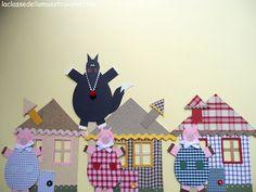 La classe della maestra Valentina: Three Little Pigs Puppets Tutorial #FoPRR