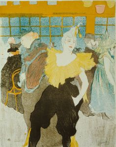 "moma: "" Learn about Toulouse-Lautrec's nightlife through food, drink, and an after-hours tour in a new course. [Henri de Toulouse-Lautrec. La Clownesse au Moulin Rouge (The Clowness at the Moulin..."