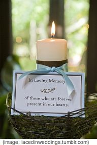 Tips on how to honour a parent who cannot be there especially when that parent has died. #WeddingCeremony #WendyHaynes