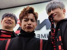 ━ senseless things victon says and does. some pictures and videos do … Random Meme Faces, Funny Faces, Pretty Pictures, Funny Pictures, Victon Kpop, Great Memes, Love My Kids, Korean Entertainment, Dimples