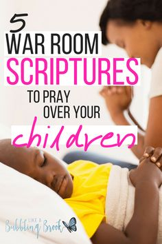 5 War Room Scriptures to Pray Over Your Children. These are powerful bible verses to pray over your kids whether they& young or grown! You can even hang them on your war room wall with the free printable that& included! Prayer Times, Prayer Scriptures, Bible Prayers, Faith Prayer, Prayer Quotes, Prayer For My Son, Praying For Your Children, Prayers For Children, Scriptures For Children