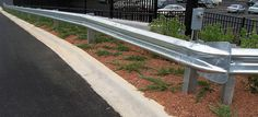 We provide Steel Guard Rail system for roadside and highway safety - Galvanized GI guardrail - it reduce the severity of collisions by preventing a vehicle.