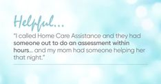 Premier in home care for older adults, seniors and elders. Hourly and 24 hour elder care, home health care and home aides. Home Health Care, Elderly Care, Life
