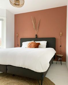 Bedroom Wall Colors, Bedroom Color Schemes, Room Ideas Bedroom, Small Room Bedroom, Home Decor Bedroom, Living Room Colors, Home Room Design, Luxurious Bedrooms, New Room