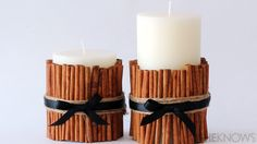 cinnamon vanilla candles