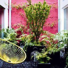 Un patio multicolore (ou presque) - Marie Claire Maison