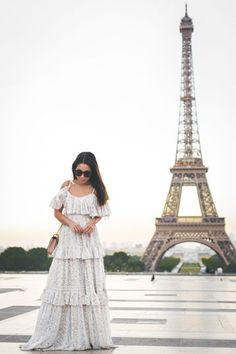 Paris Paris :: Ruffle maxi dress