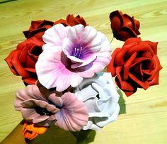 Sweet Cute and Cool: Moldes de termoformado Thikas para flores de goma ...