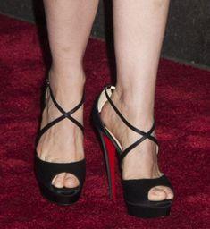 christian louboutin women's cross me platform sandals