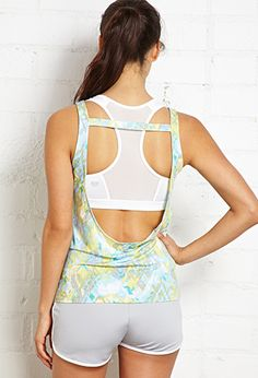 Open-Back Workout Tank | FOREVER 21 - 2000089339