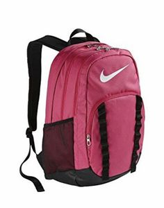 New Nike Brasilia 7 Backpack XL -- A special product just for you. Nike School Backpacks, Girly Backpacks, Nike Under Armour, Pink Nikes, Cute Bags, Backpack Bags, Rucksack Bag, School Bags, Purses And Bags
