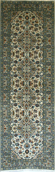 Large Persian Hand-Knotted Ardakan Rug in Wool (Cotton Foundation) - Ref: 1700 - 3.02m x 1.00m