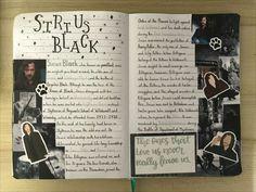Harry Potter Scrapbook, Harry Potter Journal, Creating A Bullet Journal, Bullet Journal Writing, Harry Potter Houses, Harry Potter Books, Lily Potter, Desenhos Harry Potter, Wreck This Journal