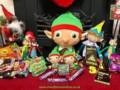 The kids loved this very easy antic with as many sour and spicy sweets we could find. Woodland Elf, Father Christmas, Magical Creatures, Family Traditions, Easter Bunny, Elf On The Shelf, Elves, Over The Years, Children
