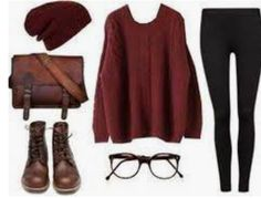 winter hipster outfits for girls 2018 Hipster Outfits, Adrette Outfits, Preppy Outfits, Hipster Fashion, Girl Fashion, Fashion Outfits, Fashion Clothes, School Outfits, Mens Fashion