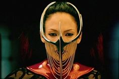 The Cell Image: Jennifer Lopez: Catherine Deane Movie Costumes, Cool Costumes, Amazing Costumes, Jennifer Lopez, The Cell 2000, Eiko Ishioka, Catherine Deane, Visual Diary, Headpieces