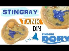 Super cute stingray thank made out of polymer clay with some resin .by Nerdecrafter
