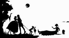 Kara Walker, Gone, An Historical Romance of a Civil War As it Occurred Between the Dusky Thighs of One Young Negress and Her Heart, 1994 Art Otter: BLACK HISTORY MONTH: KARA WALKER http://artotterblog.blogspot.com/2015/02/black-history-month-kara-walker.html